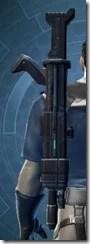 Requisitioned Demolisher's Blaster Rifle MK-3 Stowed