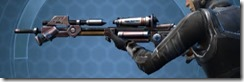 Transparisteel Onslaught Sniper Rifle Left