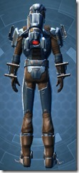 Yavin Boltblaster's MK-3 - Male Back