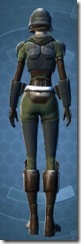 Havoc Squad Officer - Female Back