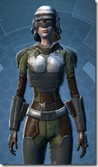Havoc Squad Officer - Female Close