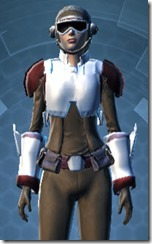 Imperial Field Agent - Female Close