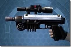Insurrectionist's Blaster Left