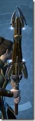 HK-55's Vibrosword Back