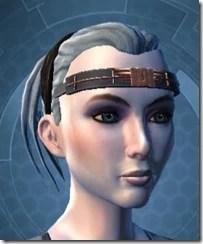 Jedi Myrmidon Headgear