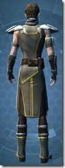 Jedi Strategist - Male Back