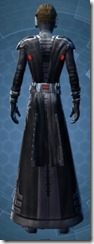 Saber Marshal - Male Back