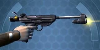 Artful Trickster's Heavy Blaster Right