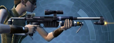 Knave's Quick-Handed Blaster Rifle Right