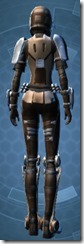 Outlander Soldier - Female Back