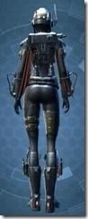 Commander Vizla - Female Back
