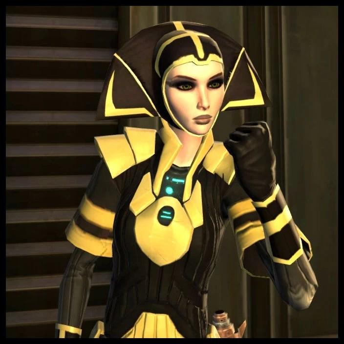 Droona: Alderaan Outfit – The Harbinger