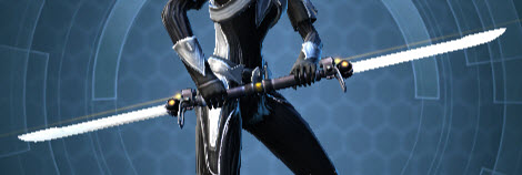 Savage Raider's Dual-Edged Vibrosword Full