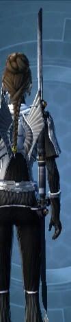 Savage Raider's Dual-Edged Vibrosword Stowed