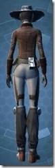Outer Rim Gunslinger - Female Back