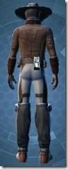 Outer Rim Gunslinger - Male Back