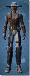 Outer Rim Gunslinger - Male Front