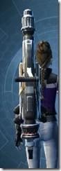Eternal Champion's Autocannon Stowed