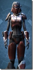 Crimson Raider - Female Close