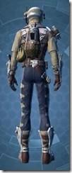 Desert Scavenger - Male Back