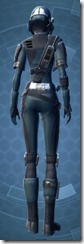 Security Soldier - Female Back