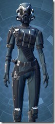 Security Soldier - Female Close