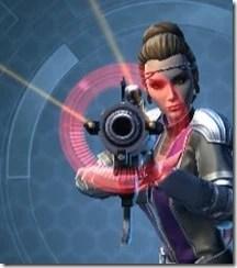 Dread Enforcer's Blaster Rifle Front