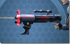 Dread Enforcer's Blaster Rifle Left