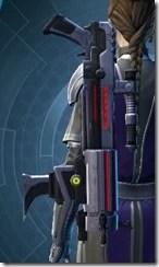 Dread Enforcer's Blaster Rifle Stowed