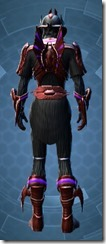 Dread Mystic - Male Back