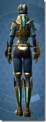 Righteous Enforcer - Female Back