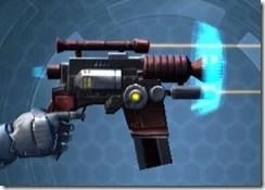 Righteous Harbinger's Blaster Right