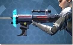 Rughteous Enforcer's Blaster Rifle Left