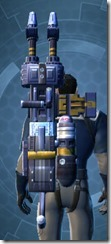 Commander's Assault Cannon MK-2 Stowed
