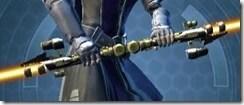 Eternal Commander MK-12 Saberstaff Front