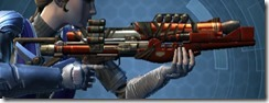 Eternal Commander MK-4 Blaster Rifle Right