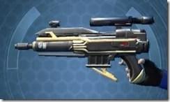 Exarch's Blaster Pistol MK-1 Left
