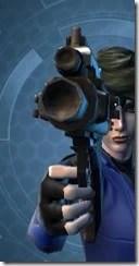 Ferrocarbon Asylum Blaster Pistol Front