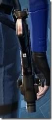 Ferrocarbon Asylum Blaster Pistol Stowed