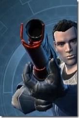 Ferrocarbon Asylum Blaster Rifle Front