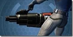 Ferrocarbon Onslaught Assault Cannon Left