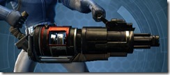 Ferrocarbon Onslaught Assault Cannon Right