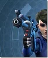 Hunter's Blaster Pistol MK-1 Front