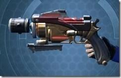 Revanite's Blaster Pistol MK-1 Left