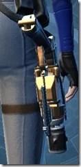 Revanite's Blaster Pistol MK-1 Stowed