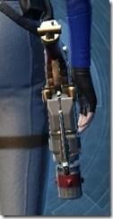Revanite's Blaster Pistol MK-2 Stowed