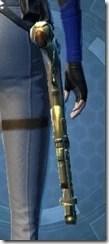 Rishi's Blaster Pistol MK-2 Stowed