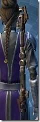 Veteran Outlander Force-Lord's Saberstaff Stowed