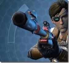 Deadeye's Sniper Rifle MK-1 Front