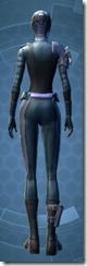 Inscrutable Pursuer - Female Back